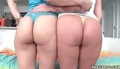 Hot Sluts Angel Vain And Liz Show Their Big Asses 4 #2435
